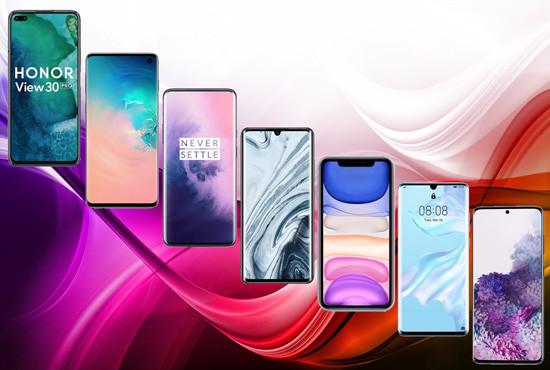 РЕЙТИНГ ТОП 7 Смартфонов 2020 (Апрель)